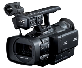 JVC Unveils World's First Handheld 4K Camcor