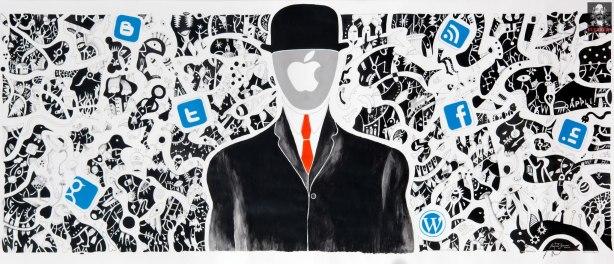 "ASMEHN ""Art, Social Media and The Evolution of the Human Network. ©2012 Antonio Guerrero"