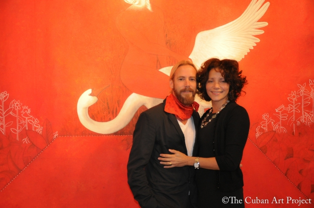 Passion Red Miguel Rodez Art Exhibit-Photos by The Cuban Art Project-22