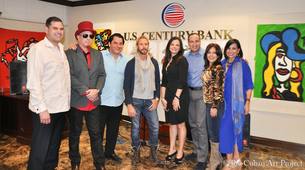 US Century Bank Hosts Art Exhibition for Contemporary Cuban ...