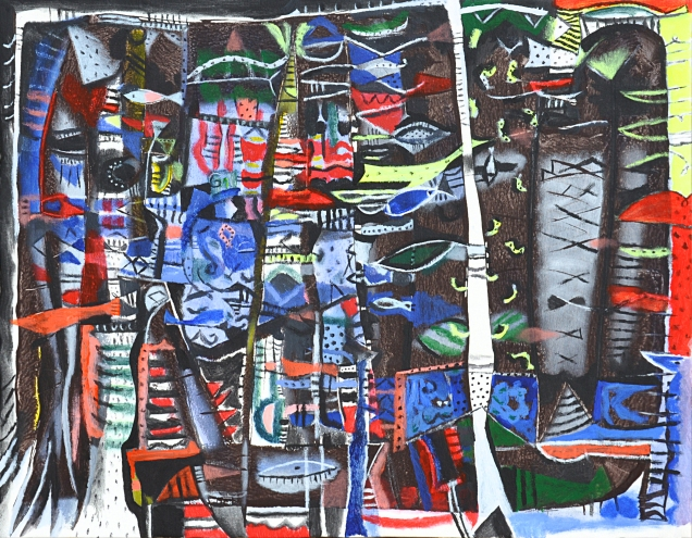 Al heroe, 2010 65x85Cms,, lienzo