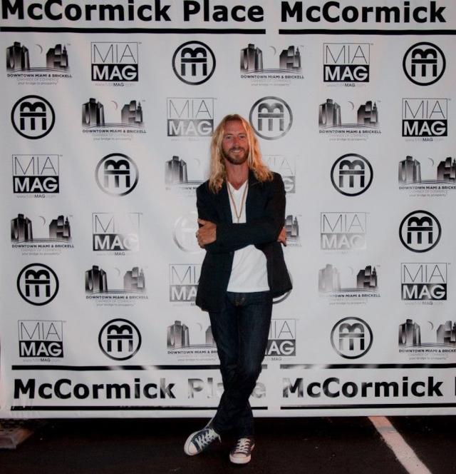 Antonio Guerrero @ McCormick Place Grand Opening Night, September 7, 2012