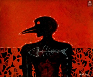 Antonio Guerrero, arte cubano, cuban art,arte rojo, art news, red art.cuban news