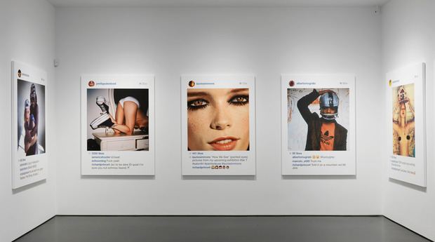 """Richard Prince: """"New Portraits"""" The multi-disciplined artist bends the rules of portraiture for his new Instagram-based show at NYC's Gagosian Gallery"""