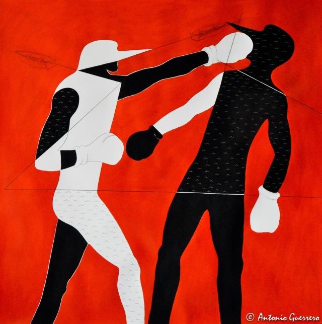 Antonio guerrero, art, jesus my lord,el boxeador-1