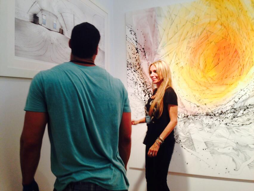 Blink Group Gallery @ Spectrum Miami 2014. Booth #709