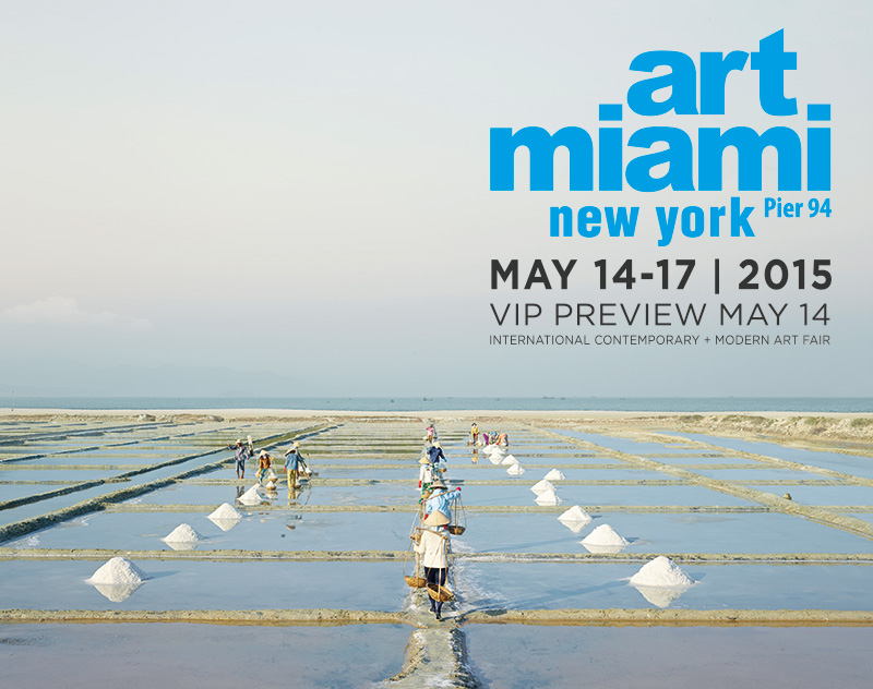 Art Miami New York Launches in NYC. May 14 -17-20