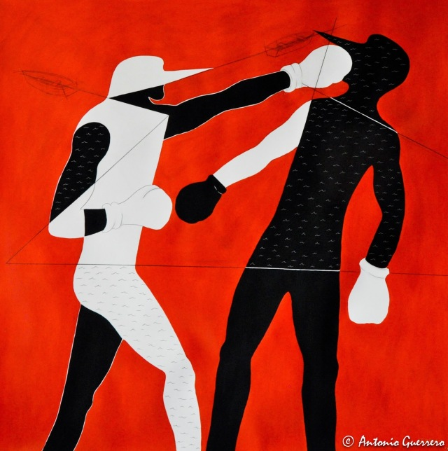 Antonio guerrero, art, jesus my lord,el boxeador