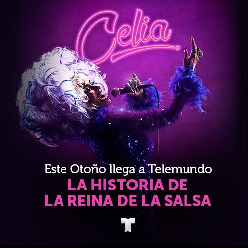 """Telemundo presenta """"Celia"""" serie dramática inspirada en la vida de  Celia Cruz"""