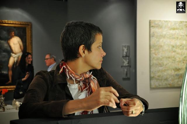 Leticia del Monte. Founder of The Cuban Art Project. ArtMiami 2013 Photo by Antonio Guerrero