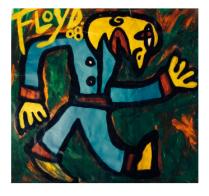 Title: El Camino Dimensions: 58 X 54 Acrylic on Canvas