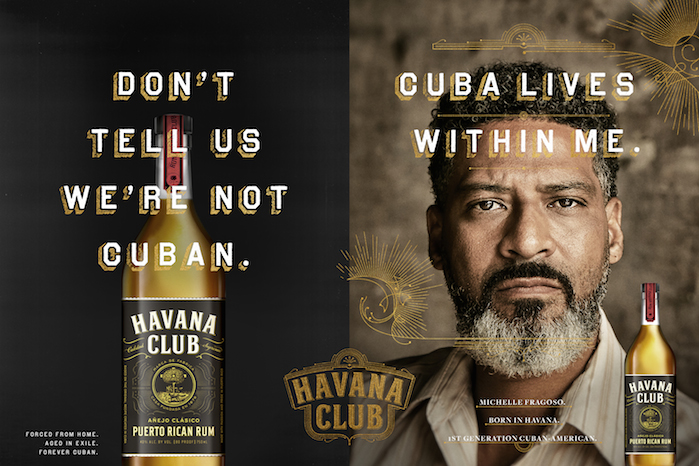 Havana Club: Forced from home. Aged in exile. Forever Cuban.